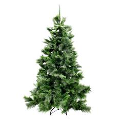 Ель новогодняя Longneedle Pine Imperial Tree украшенная с шишками 228 см (CH80425)