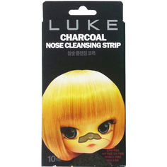 Очищающие полоски Luke Charcoal Nose Cleansing Strip 10 шт