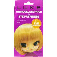 Гидрогелевые патчи для глаз LUKE От припухлостей с экстрактами огурца и бамбука