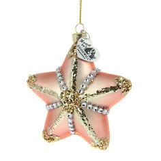 Игрушка елочная морская звезда 10см Goodwill