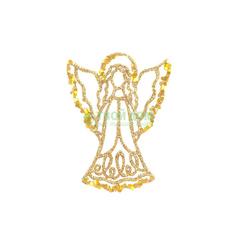 Ангел серебро/золото 130мм Weiste 94595
