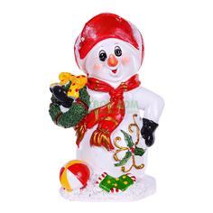Фигурка Shishi Снеговик 9.4х7.7х14.5см (YW-M13170)