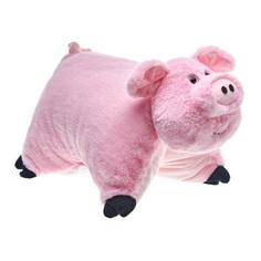 Подушка розовая Ваш подарок Хавронья