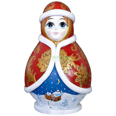 Игрушка Mister Christmas Копилка Снегурочка (skmb-02)