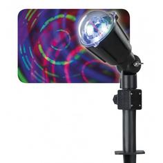 Проектор светящиеся круги 35см 3led Kaeming 495303
