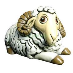 Игрушка Fujian dehua Копилка овечка 13x11x7см (ZY6055A-2)