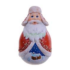 Фигурка Mister Christmas Неваляшка Дед Мороз 11см (DKMB-03)