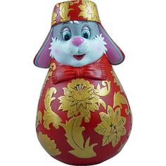 Неваляшка символ года хохлома 11 см Mister Christmas