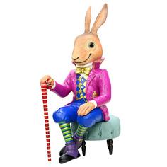 Фигурка декор заяц 61х47х134 см Kaemingk