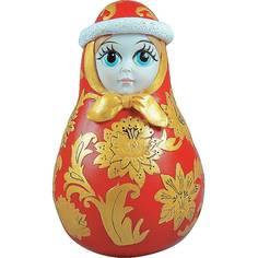 Неваляшка Mister Christmas Снегурочка хохлома 11 см