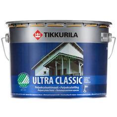 Краска Tikkurila Ultra Classic Полуматовая белая 2.7л