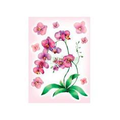 Наклейки Decoretto Акварельная орхидея (FI 4004)