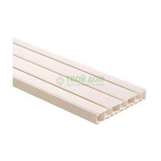 Карниз Уют Карниз пластмас 3х-рядный стандарт 250см
