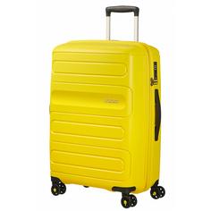 Чемодан American Tourister Sunside желтый M
