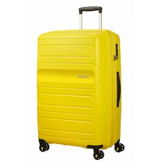 Чемодан American Tourister Sunside желтый L