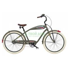 Велосипед Electra Bicycle Cruiser Tiger Shark 3i Midway Grey (262139)