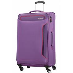 Чемодан American Tourister Holiday Heat фиолетовый S