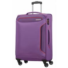 Чемодан American Tourister Holiday Heat фиолетовый M