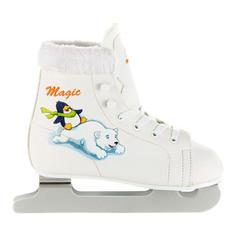 Коньки СК (Спортивная коллекция) Magic белые размер 27