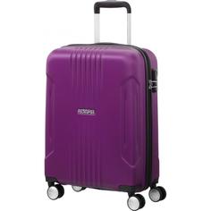 Чемодан American Tourister Spinner пурпурный M