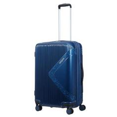Чемодан American Tourister Modern dream синий с блеском M