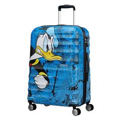Чемодан American Tourister Доналд Дак Wavebreaker Disney Spinner M