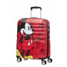 Чемодан American Tourister Микки Wavebreaker Disney Spinner S