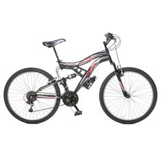 Велосипед Casadei suspension 26 18v черный Матовый