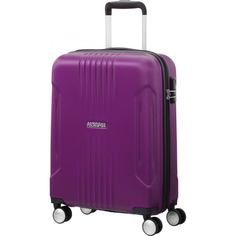 Чемодан American Tourister Spinner пурпурный L