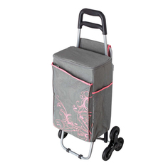 Сумка-холодильник на колесиках Thermos Wheeled Shopping Trolley Grey 28 л