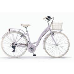 Велосипед Mbm primavera lavanda с корзиной (236)