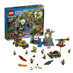 Конструктор Lego Город база исследователей джунглей 60161-L