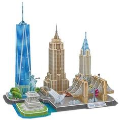 3D-пазл CubicFun CityLine Достопримечательности Нью-Йорка