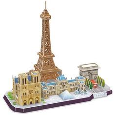 3D-пазл CubicFun CityLine Достопримечательности Парижа