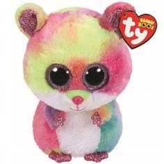 Мягкая игрушка TY Beanie Babies Хомяк Rodney 15 см