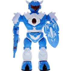 Электронная игрушка ABtoys Робот с бластером и щитом