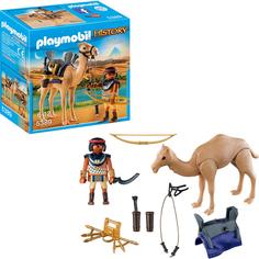 Игровой набор Playmobil Египетский воин с верблюдом