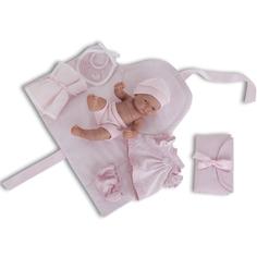 Кукла-младенец Munecas Карла с пеленальным комплектом 26 см