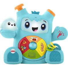 Интерактивная игрушка Mattel Fisher Price Смейся и учись Роккит и Спарки