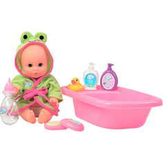 Кукла ToysLab Набор для купания с пупсом 32 см