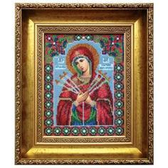 Вышивание Чарiвна мить Набор для вышивания бисером икона божьей матери умягчение злых сердец (Б-1008)