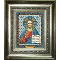 Вышивание Чарiвна мить Набор для вышивания бисером икона господь вседержитель (Б-1011)