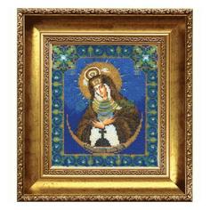 Вышивание Чарiвна мить Набор для вышивания бисером икона божьей матери остробрамская (Б-1013)