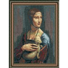 Вышивание Чарiвна мить Набор для вышивания дама с горностаем