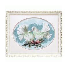 Вышивание Чарiвна мить Набор для вышивания любовь и голуби (А-165)