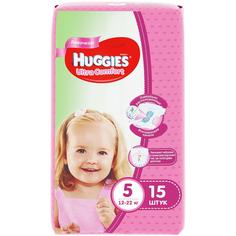 Подгузники Huggies Ultra Comfort 12-22 кг. 15 шт.
