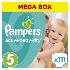 Подгузники Pampers Active Baby-Dry 5 (11-18 кг) 111 шт