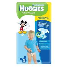 Подгузники Huggies Ultra Comfort для мaльчиков 5 12-22 кг. 56 шт. (9402531)