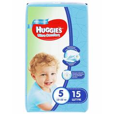 Подгузники Huggies Ultra Comfort для мальчиков 12-22 кг. 15 ш. (9402511)