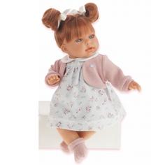 Кукла Munecas Лорена в белом озвученная 37 см
